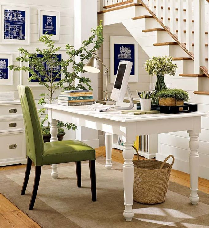 Great-Decorating-ideas-home-office-in-living-room